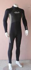 Full Length Steamer Wetsuit for Men 2/3mm Back Zip Size XS