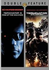 Terminator 3: Rise of the Machines/Terminator Salvation (DVD, 2011, 2-Disc Set)