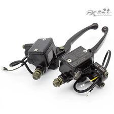 FXCNC Motorcycle Hydraulic Brake & Clutch Master Cylinder Lever 22mm Handlebar