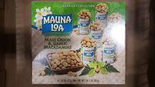 Mauna Loa Maui Onion and Garlic Macadamia Nuts - 6 Can Gift Collection