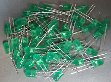 LED Lamps -  Emitted Colour : GREEN  Size (mm) : 5mm Generic - Quantity of 50