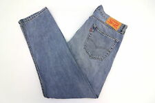 Levis 505 Regular Straight Fit Light Wash Mens Jeans Size 33 x 32