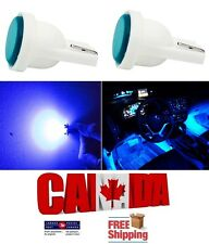 2pcs Blue Ceramic LED T10 194 158 168 912 COB Map Dome License Plate Light Bulb