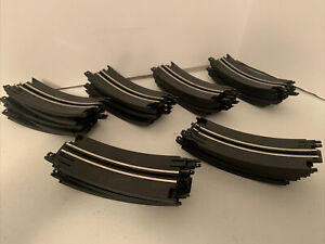 Artin Slot Car One Lane Looping Track With Hook Lot Of 30 Replacement Pieces