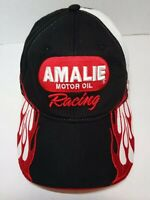 Amalie Motor Oil Racing Red & White Adjustable Cap Official NHRA Trucker Hat