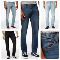 Men's   RoF fashionable New Sand Wash Slim Fit Denim Flex Stretch Jeans