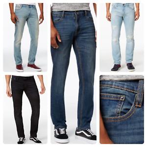 Men's   RoF fashionable New Sand Wash Slim Fit Denim Flex Stretch Jeans
