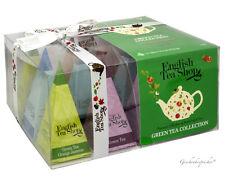 TEE GESCHENK ENGLISH TEA SHOP GREEN TEA COLLECTION GESCHENKSET 12 TEE PYRAMIDEN
