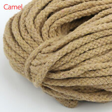 Woven Crafts Braided 2mmx100 Yards Macrame Cord String Cotton Rope Thread