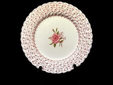 """Johnson Brothers Rose Bouquet Pink 9 7/8""""  Dinner Plate"""