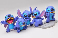Takara Tomy Disney Stitch Acchi Kocchi Figure Collection Completed Set 5pcs