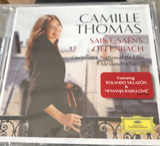 Camille Thomas SaintSaëns Offenbach New Sealed Classical Cd Villazon