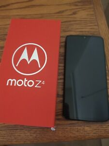 Motorola Moto Z4 XT1980-4 128GB FlashGray Verizon Wireless Smartphone/Cell Phone