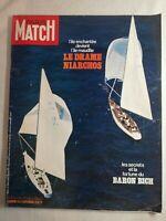 N1926 Magazine Paris-Match N°1113 5 sept 1970 Le drame Niarchos, île maudite