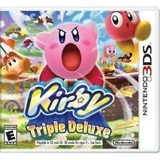 Kirby Triple Deluxe RE-SEALED Nintendo 3DS 3 DS 2 2DS XL GAME