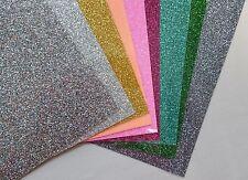 Set 8 Farben, 25cm x 50cm Glitter2 Flexfolie (Siser Italien)