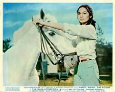 The Main Attraction Original Lobby Card Nancy Kwan and Horse