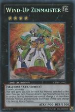 1x Yugioh Wind-Up Zenmaister CT08-EN002 Limited Secret Rare Near Mint