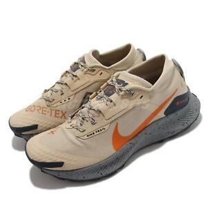 Nike Pegasus Trail 3 GTX Gore-Tex Beige Orange Men Outdoors Shoes DC8793-200