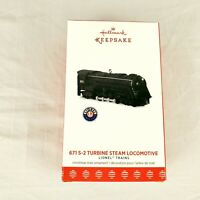 Hallmark Keepsake Ornament 671 S-2 Turbine Steam Locomotive Lionel Trains 2017