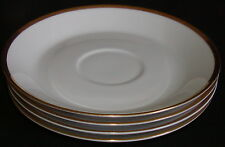 Hapag LLoyd Ship Line-4 Underplates for Soup Bowls-Hutschenreuther Noblesse