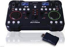 DJ-TECH Mix Free 2.4GHZ Wireless Mixer USB DJ Music MP3 Mixing Controller PC & M