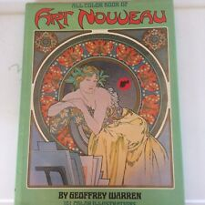 ALL COLOR BOOK OF ART NOUVEAU (HARDCOVER)