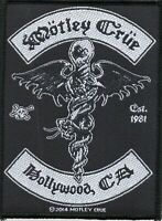 Motley Crue Patch Hollywood Woven Patch