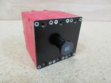 NEW Klixon 40 Amp Circuit Breaker 6752-322-40