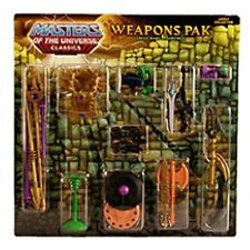 HeMan Masters of the Universe Great Wars Exclusive Weapons Pak NEW!