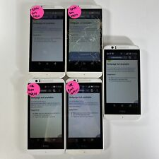 Lot of 5 Cracked Glass HTC Desire 510 OPCV1 Boost Mobile *Check IMEI*