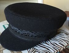 New black wool Legion Hat, Made In Russia. Fun Retro Style