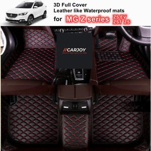 3D Shaped Customized Waterproof Car Floor Mats for MG Z series ZS ZS EV ZST