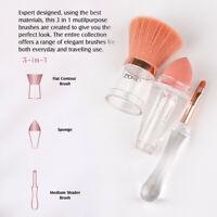 Professional 3 in 1 Kabuki Make Up Brushes And Base Cosmetic Tool Easy Makeup UK