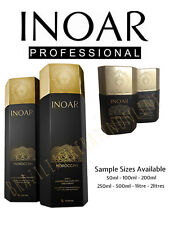 INOAR MOROCCAN BRAZILIAN KERATIN TREATMENT BLOW DRY HAIR STRAIGHTENING KITS.