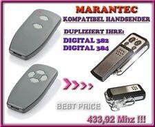 Marantec Digital 382 / Digital 384 433,92Mhz kompatibel Handsender / KLONE