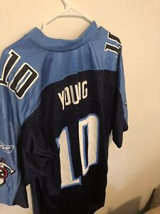 Tennessee titans Jersey Size Medium Number 10 Steve Young