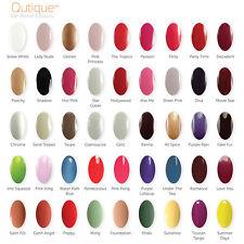 QUTIQUE Gel Nail Polish Pack/Kit -ANY 1 Colour -Lasts 14+ Days, Salon Quality