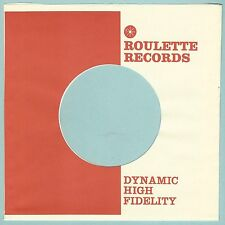 ROULETTE REPRODUCTION RECORD COMPANY SLEEVES - (pack of 10)