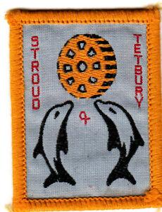 Boy Scout Badge single STROUD & TETBURY District