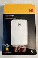 New KODAK STEP, Instant Mobile Photo Printer, RODMP20W