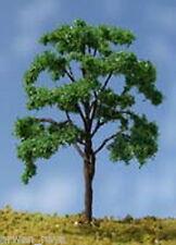 Spur H0 Neuware - 10 dunkelgrüne Laubbäume - in einer Grösse von 110 mjm