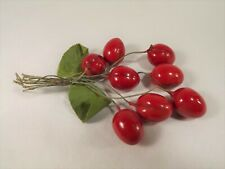 Millinery Lacquered Cherries Fruit Cluster Hats Reenactment Period Costumes