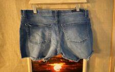 Rock & Republic Pixie women's blue denim stretch shorts size 12