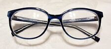 Clariti Star ST6176 Blue/Crystal Eyeglasses 52 - 18 - 140