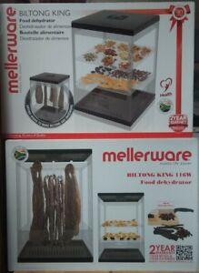 Biltong maker & dried sausage make+ food dehydrator + Recipes - UK stock + plug