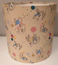 Beatrix Potter Handmade Lampshade, 20cm, Nursery,  Peter Rabbit, Ceiling Or Lamp