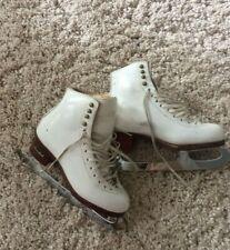 Custom Harlick Ice Skates (Women - Sz 6-7) - John Wilson Skates, Sheff. England