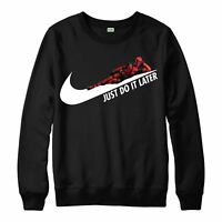 Deadpool Jumper Just do it later Top Limited Edition Mens Adult Kid's Jumper Top