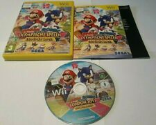 Nintendo Wii Mario & Sonic Olympic Games London 2012 100% Complete Very Good